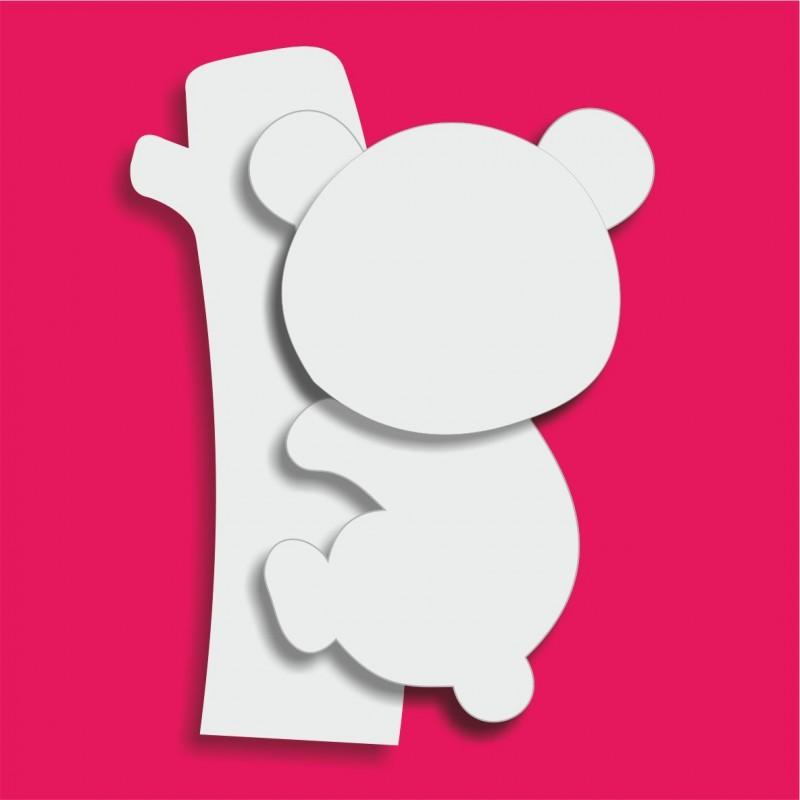 Présentoir gateau de bonbons en polystyrène koala