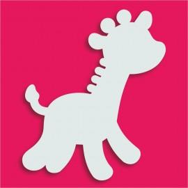 Présentoir gateau de bonbons en polystyrène girafe 2