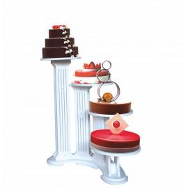 présentoir en pvc olympiade 4 gâteaux