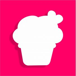 présentoir gâteau de bonbons en polystyrène cupcake