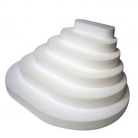 présentoir gradin polystyrène 6 étages