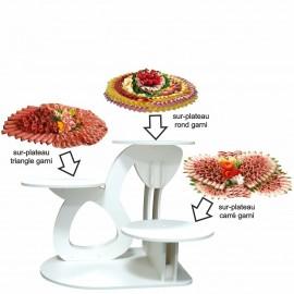 Présentoir Extra en pvc pour gâteaux et surplateaux traiteur