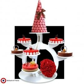 Présentoir à gâteaux en pvc Sphéro