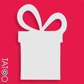 support polystyrène bonbons cadeau
