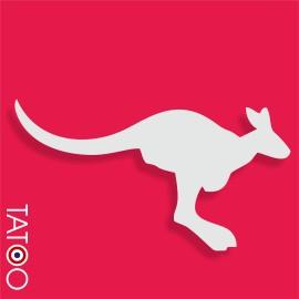 support polystyrène bonbons kangourou