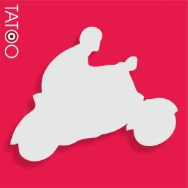 support polystyrène bonbons pilote et scooter