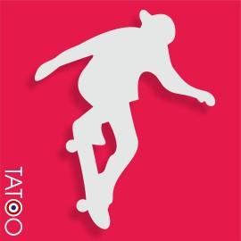 support polystyrène bonbons figure skateboard 2
