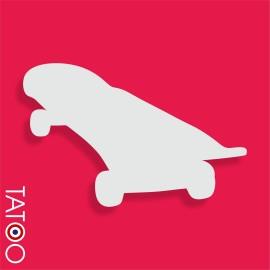 support polystyrène bonbons skateboard