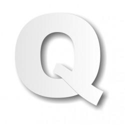 Grande lettre polystyrène Q...