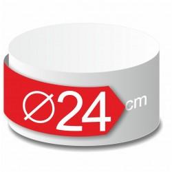Rond polystyrène diamètre 24 cm