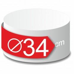 Rond polystyrène diamètre 34 cm