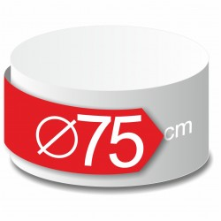 Rond polystyrène diamètre 75 cm