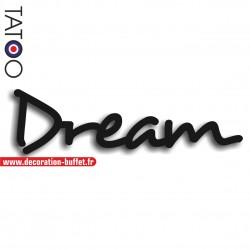 Mot dream en pvc rigide...