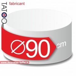 Rond polystyrène diamètre 90 cm - disque - cercle - dummy différentes épaisseurs