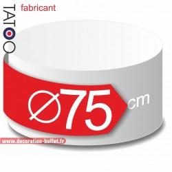 Rond polystyrène diamètre 75 cm - disque - cercle - dummy différentes épaisseurs