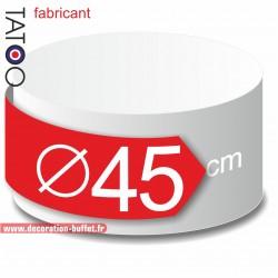 Rond polystyrène diamètre 45 cm - disque - cercle - dummy différentes épaisseurs