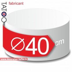 Rond polystyrène diamètre 40 cm - disque - cercle - dummy différentes épaisseurs