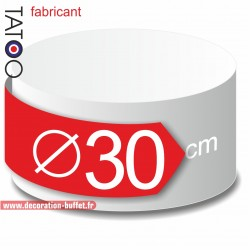 Rond polystyrène diamètre 30 cm - disque - cercle - dummy différentes épaisseurs