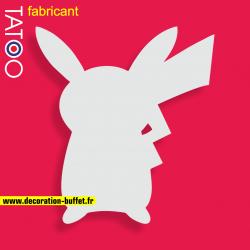 support gateau bonbons personnage pikachou manga décor