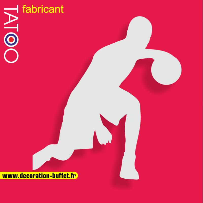 support gateau bonbons basketteur basket ballon dribble sport