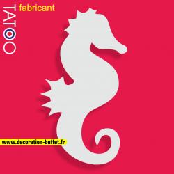 support polystyrène bonbons hippocampe cheval de mer