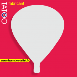 support polystyrène bonbons montgolfier ballon dirigeable