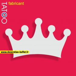 support polystyrène bonbons couronne roi reine