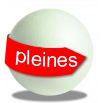 Sphères polystyrène pleines en différentes tailles