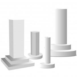 - colonnes sur pied