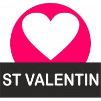 supports bonbons saint Valentin