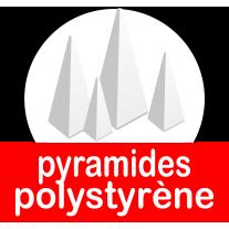 Pyramides polystyrène