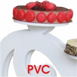 - présentoir à gâteaux pvc et plexi