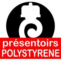 Presentoir à gateau polystyrène - americain, socle