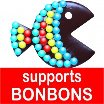 Présentoirs pour bonbons - polystyrene